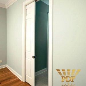 orçamento divisoria gesso drywall com porta de correr embutida