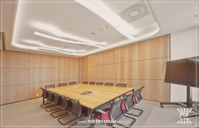 divisória industrial piso teto para escritório