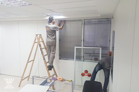 serviços de montagem de divisória industrial para escritório