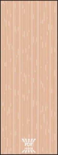 modelo divisória piso teto madeira mdf cego