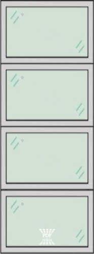 modelo divisória de vidro paginada em 4 são paulo