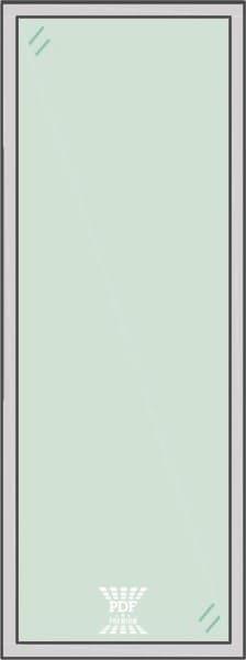 modelo divisória de vidro piso teto cega são paulo